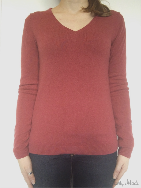 Perfect Undershirt for Cashmere Sweater from J. Crew